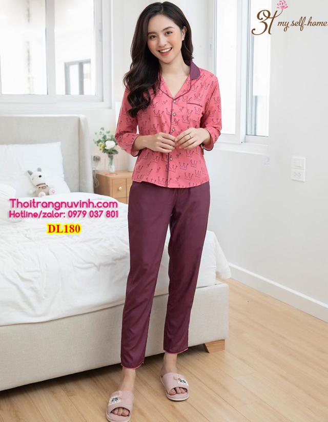 Bộ pijama lụa