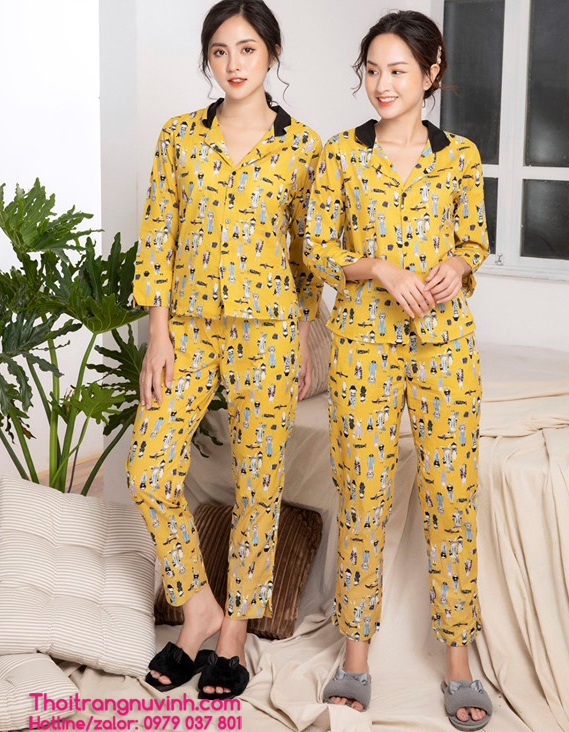 bộ sưu tập bộ đồ mặc nhà thu đông mới nhất năm 2109