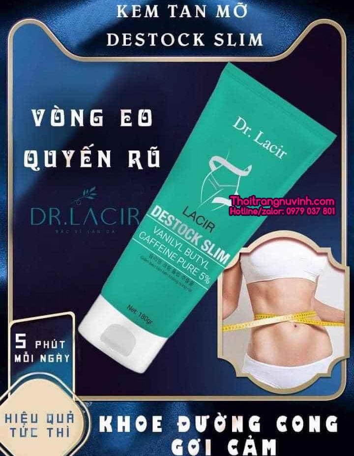 Kem Tan Mỡ Lacir Destock Slim LKD29
