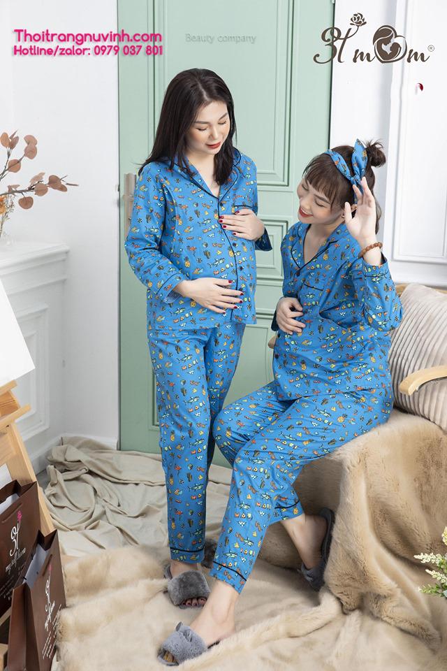 Bộ đồ bầu mặc nhà và sau sinh - BCT16